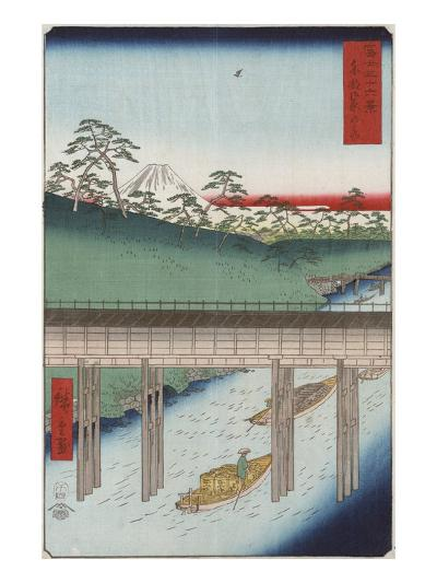 Ochanomizu in the Eastern Capital-Ando Hiroshige-Giclee Print