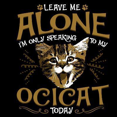 Ocicat Cat Pet-Wonderful Dream-Art Print