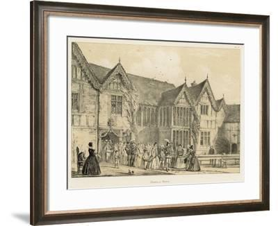 Ockwells, Berks-Joseph Nash-Framed Giclee Print