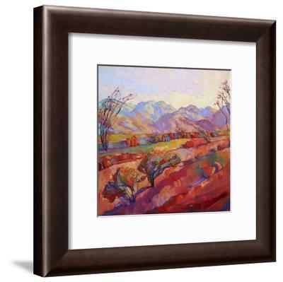 Ocotillo Triptych (center)-Erin Hanson-Framed Art Print