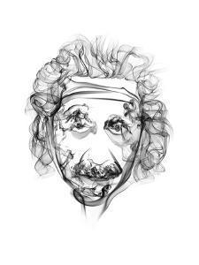 Albert Einstein by Octavian Mielu