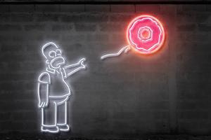 Donut Baloon by Octavian Mielu