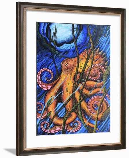 Octo 2-Martin Nasim-Framed Giclee Print