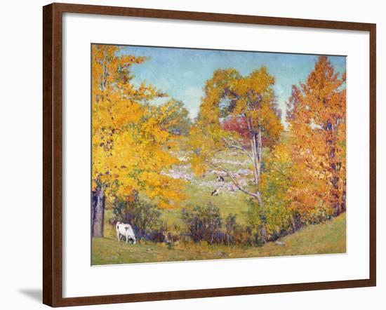 October Bouquet-Alson Clark-Framed Art Print