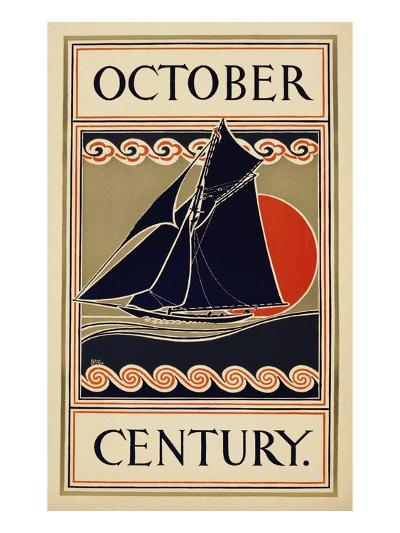 October Century-H^m^ Lawrence-Giclee Print