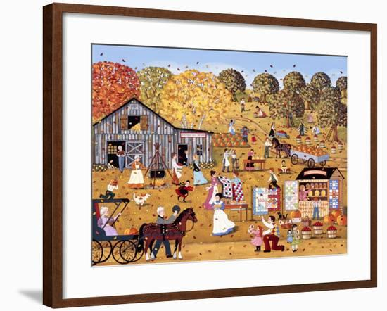 October Gave a Party-Sheila Lee-Framed Giclee Print