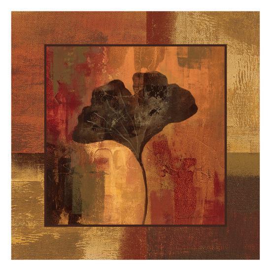 October Leaf II-Silvia Vassileva-Art Print