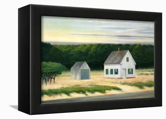 October on Cape Cod-Edward Hopper-Framed Premier Image Canvas