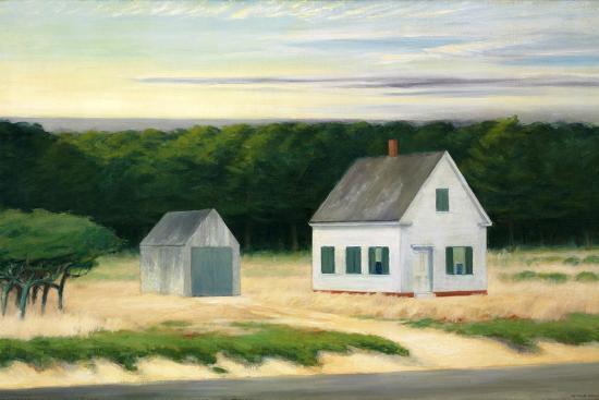 October on Cape Cod-Edward Hopper-Premium Giclee Print