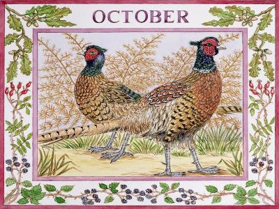 October-Catherine Bradbury-Giclee Print