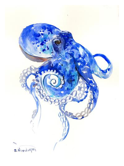 Octopus 2-Suren Nersisyan-Art Print