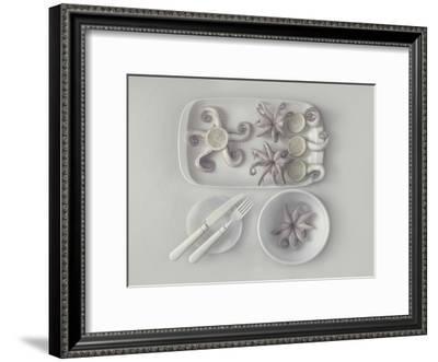Octopus 2-Dimitar Lazarov-Framed Giclee Print