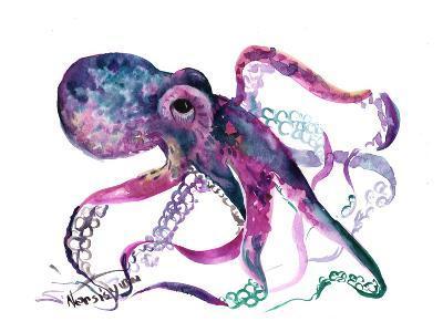 Octopus 4-Suren Nersisyan-Art Print