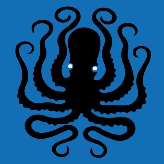 Octopus Icon-Complot-Art Print