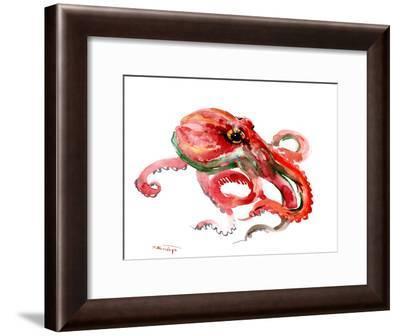 Octopus-Suren Nersisyan-Framed Art Print