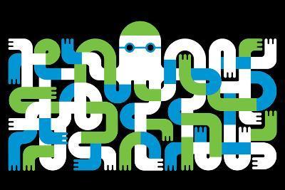 Octopus-Melinda Beck-Art Print