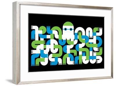 Octopus-Melinda Beck-Framed Art Print