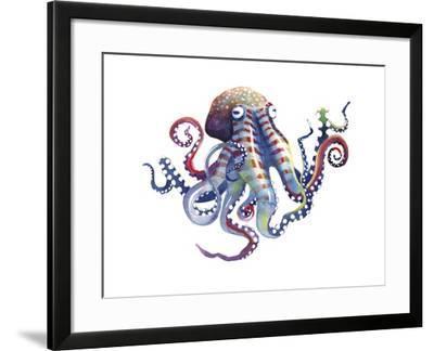 Octopus-Sam Nagel-Framed Art Print