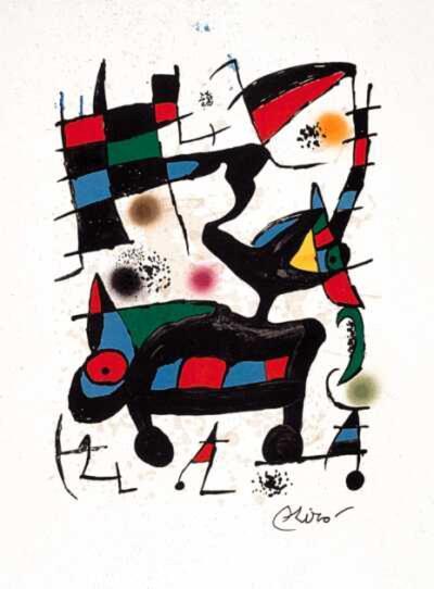 Oda, c.1973 WVZ 903-Joan Mir?-Collectable Print