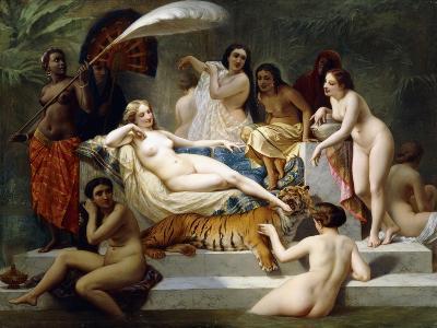 Odalisque, 1858-Henri Pierre Picou-Giclee Print