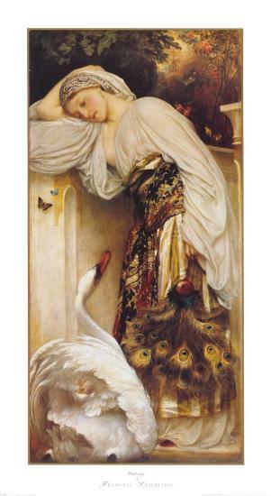 Odalisque-Frederick Leighton-Art Print