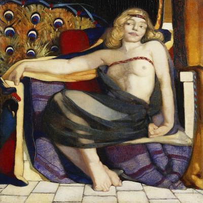Odalisque-Eric Harald Macbeth Robertson-Giclee Print