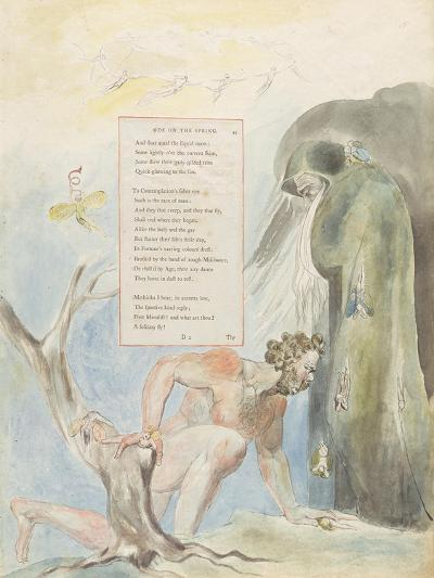 Ode on the Spring'-William Blake-Giclee Print