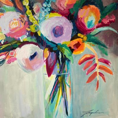 Ode to Summer 7-Jacqueline Brewer-Art Print