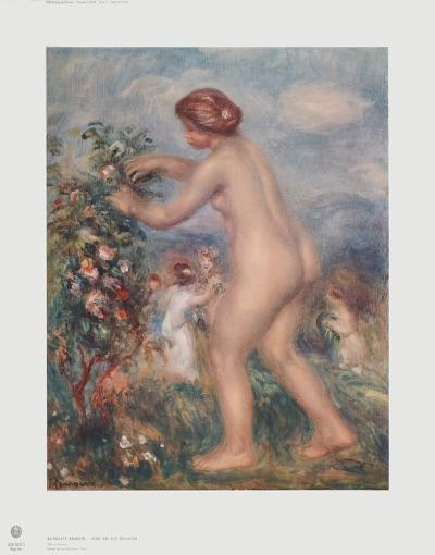 Ode to the Flowers-Pierre-Auguste Renoir-Collectable Print