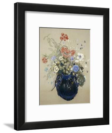A Vase of Blue Flowers, circa 1905-08