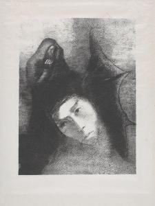 Antoine: 'Quel Est Le But De Tout Cela?', 1896 by Odilon Redon