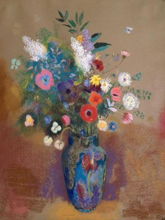 Bouquet of Flowers, c.1905 by Odilon Redon
