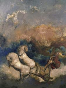 Charioteer by Odilon Redon