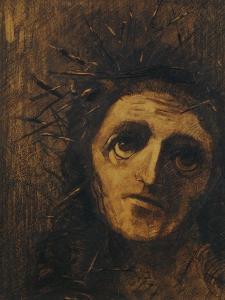 Christ, 1880 by Odilon Redon