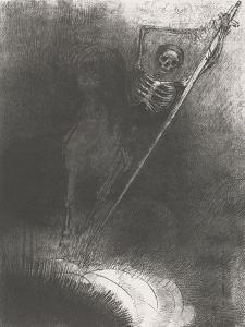 Death on a Horse, 1899 by Odilon Redon
