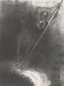 Death on a Horse, 1899 by Odilon Redon