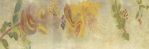 Décoration Domecy : frise de fleur et baies by Odilon Redon