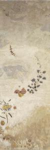 Décoration Domecy : grand panneau à décor végétal by Odilon Redon