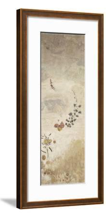 Décoration Domecy : grand panneau à décor végétal