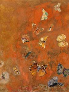 Evocation of Butterflies, c.1912 by Odilon Redon