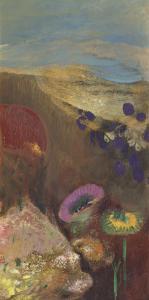 Fleurs étranges by Odilon Redon