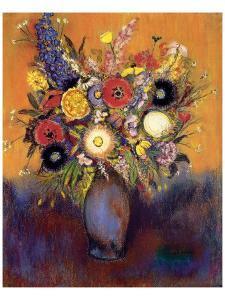Fleurs by Odilon Redon