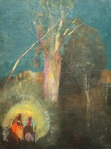 Flight into Egypt by Odilon Redon