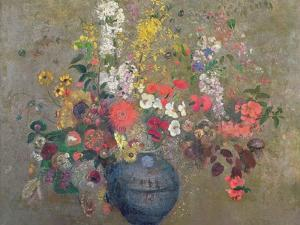 Flowers, 1909 by Odilon Redon