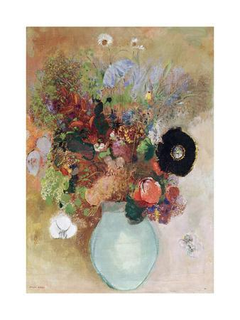 Flowers in a Green Vase, 1910