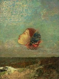 Homage to Goya, circa 1895 by Odilon Redon