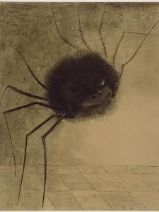 L'Araignée souriante by Odilon Redon