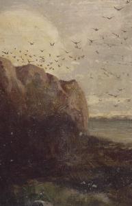 La Baie des Trépassés (Finistère) by Odilon Redon