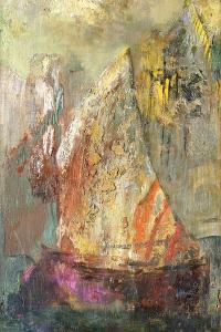 La Barque by Odilon Redon