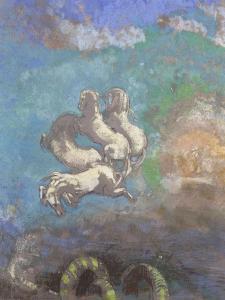 Le Char d'Apollon by Odilon Redon